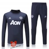 Sudadera del Manchester United 2018 Gris
