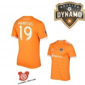 Camiseta Manotas Houston Dynamo Primera 2018 Naranja