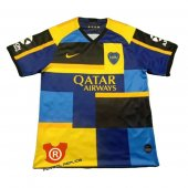 Camiseta Boca Juniors Mash Up 2020 Azul y Amarillo Tailandia