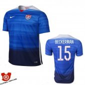 Camiseta Beckerman USA Segunda Azul 2016