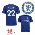 Camiseta Willian Chelsea Primera 2018 Azul