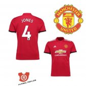 Camiseta Jones Manchester United Primera 2018 Rojo