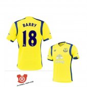 Camiseta Barry Everton Terecera 2017 Amarillo