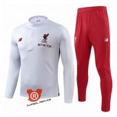Chandal del Liverpool Nino 2019 Blanco