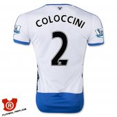 Camiseta Coloccini Newcastle United Primera 2016 Blanco