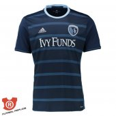 Camiseta Sporting Kansas City Segunda 2017 Azul