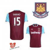 Camiseta Sakho West Ham United Primera 2017 Rojo
