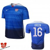 Camiseta Green USA Segunda Azul 2016