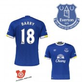 Camiseta Barry Everton Primera 2017 Azul