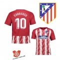 Camiseta Carrasco Atletico Madrid Primera 2018 Rojo y Blanco