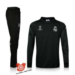 Chandal del Real Madrid 2016/2017 Negro