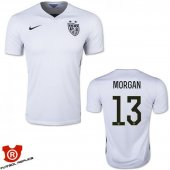 Camiseta Morgan USA Primera Blanco 2016