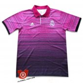 Camiseta Real Madrid Polo 2018 Rosa
