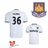 Camiseta Quina West Ham United Segunda 2017 Blanco
