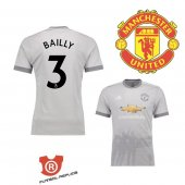 Camiseta Bailly Manchester United Tercera 2018 Gris