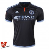 Camiseta New York City Segunda 2015 Negro Tailandia