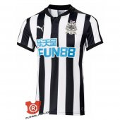 Camiseta Newcastle United Primera 2018 Blanco y Negro