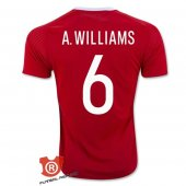 Camiseta A.Williams Wells Primera 2017 Rojo