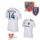 Camiseta Movsisyan Real Salt Lake Segunda 2018 Blanco
