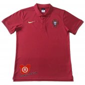 Camiseta Portugal Polo 2018 Rojo