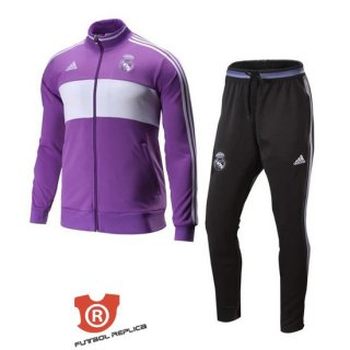 Chandal del Real Madrid 2017 Purpura y Blanco