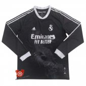 Camiseta Manga Larga Real Madrid Human Race 2021 Negro