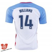 Camiseta Williams USA Primera Blanco 2017