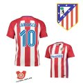 Camiseta Carrasco Atletico Madrid Primera 2017 Rojo y Blanco