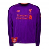 Camiseta Manga Larga Liverpool Segunda 2019 Purpura