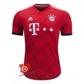 Camiseta Bayern Munich Authentic Primera 2019 Rojo