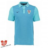 Camiseta Croacia Polo 2017 Verde