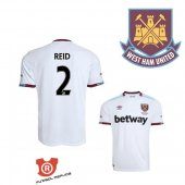 Camiseta Reid West Ham United Segunda 2017 Blanco