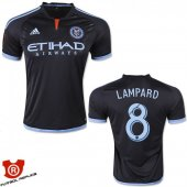 Camiseta Lampard New York City Segunda 2015 Negro Tailandia