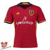 Camiseta Real Salt Lake Primera 2017 Rojo Tailandia