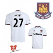 Camiseta Payet West Ham United Segunda 2017 Blanco