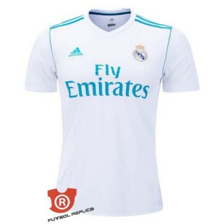 Camiseta Real Madrid Primera 2018 Blanco