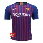 Camiseta Barcelona Authentic Primera 2019 Azul y Rojo