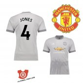 Camiseta Jones Manchester United Tercera 2018 Gris