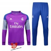 Camiseta Real Madrid Traje de Entrenamiento 2017 Purpura