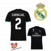 Camiseta Carvajal Real Madrid Segunda 2018 Negro