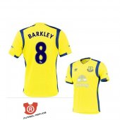 Camiseta Barkley Everton Terecera 2017 Amarillo