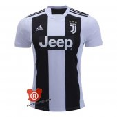 Camiseta Juventus Authentic Primera 2019 Blanco y Negro