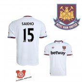 Camiseta Sakho West Ham United Segunda 2017 Blanco