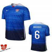 Camiseta Brooks USA Segunda Azul 2016