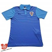 Camiseta Croacia Polo 2017 Azul