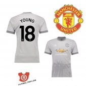 Camiseta Young Manchester United Tercera 2018 Gris