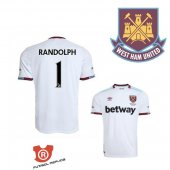 Camiseta Randolph West Ham United Segunda 2017 Blanco
