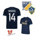 Camiseta Rogers Los Angeles Galaxy Segunda 2018 Azul