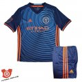 Camiseta Nino New York City Segunda 2017 Azul