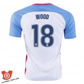 Camiseta Wood USA Primera Blanco 2017